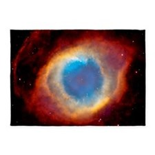 Helix Nebula Eye of God 5'x7'Area Rug