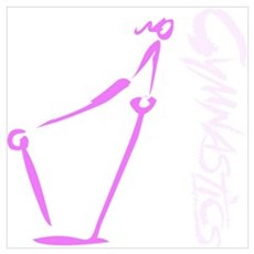 Bars - Pink Poster