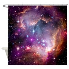 NGC 602 Star Formation Shower Curtain