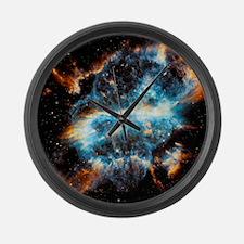 NGC 5189 Planetary Nebula Large Wall Clock