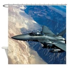 Air Force F-15 Strike Eagle Shower Curtain
