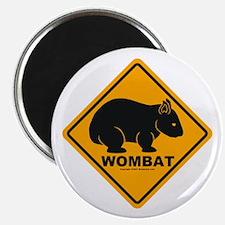 Wombat Sign Magnet