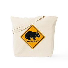 Wombat Sign Tote Bag