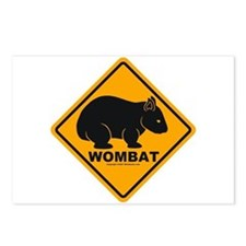 Wombat Sign Postcards (Package of 8)