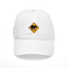 Wombat Sign Baseball Cap