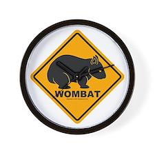 Wombat Sign Clock