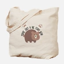 Big Teddy Bear Tote Bag