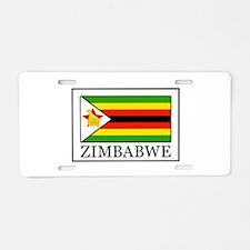 Zimbabwe Aluminum License Plate