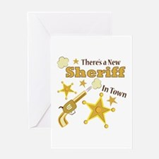 New Sheriff Greeting Cards
