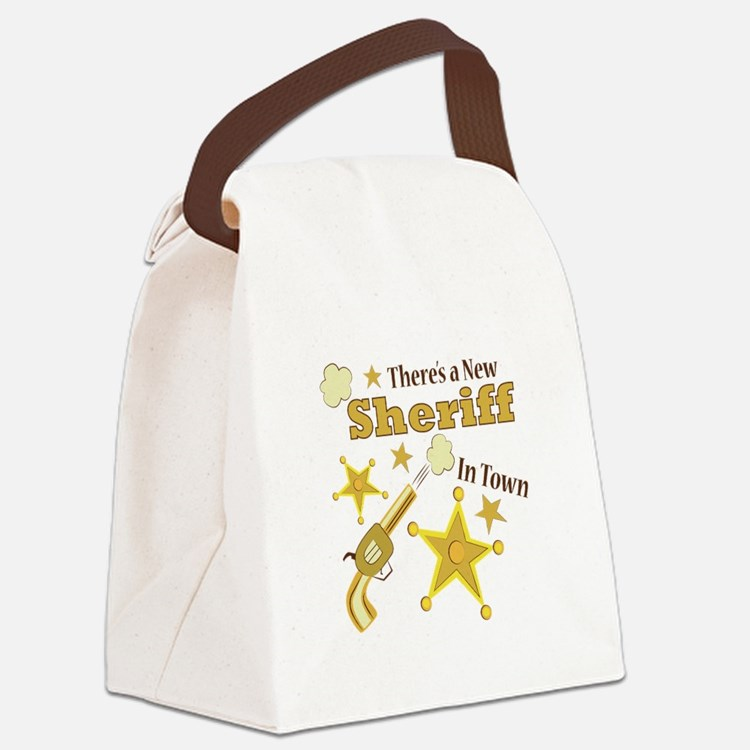 New Sheriff Canvas Lunch Bag