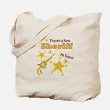 New Sheriff Tote Bag
