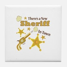 New Sheriff Tile Coaster