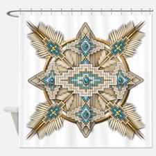 Native American Style Mandala 29 Shower Curtain