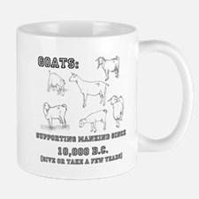Goats- Supporting mankind since 10,000 BC Mugs