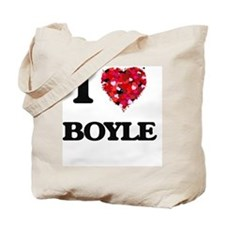 I Love Boyle Tote Bag
