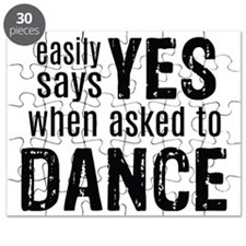 Says Yes when Asked to Dance Puzzle