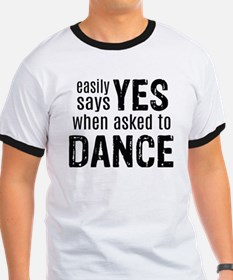 Says Yes when Asked to Dance T