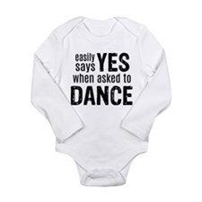 Says Yes when Asked to Dance Body Suit