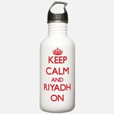 Keep Calm and Riyadh O Water Bottle