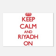 Keep Calm and Riyadh ON Postcards (Package of 8)