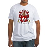 Brochard Family Crest Fitted T-Shirt