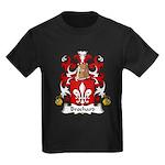 Brochard Family Crest Kids Dark T-Shirt