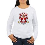 Brochard Family Crest Women's Long Sleeve T-Shirt