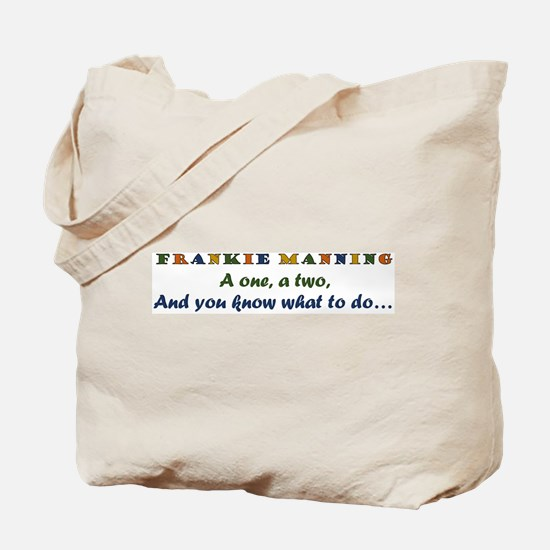 A One, A Two, Frankie! retro color Tote Bag