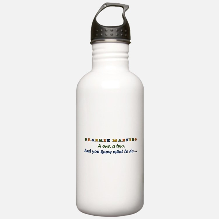 A One, A Two, Frankie! retro color Water Bottle