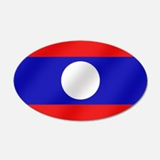 Flag of Laos Wall Decal