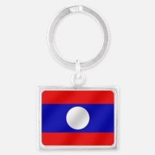 Flag of Laos Keychains