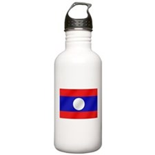 Flag of Laos Water Bottle