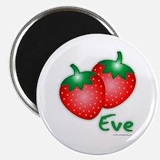 """Eve"" Strawberry Magnet"