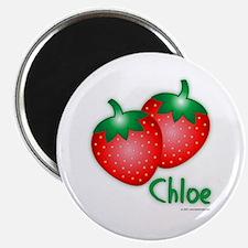 """Chloe"" Strawberry Magnet"