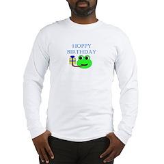 HOPPY BDAY Long Sleeve T-Shirt