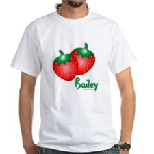 """Bailey"" Strawberry Shirt"