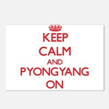 Keep Calm and Pyongyang O Postcards (Package of 8)
