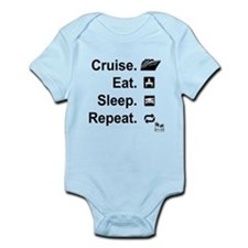 Cruise. Eat. Sleep. Body Suit