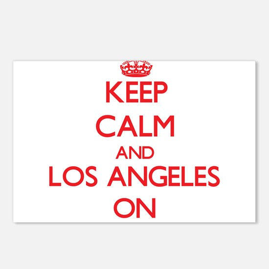 Keep Calm and Los Angeles Postcards (Package of 8)
