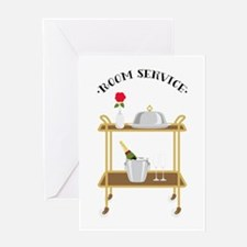 Room Service Greeting Cards