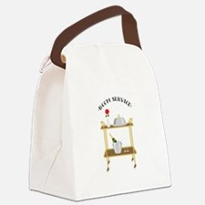 Room Service Canvas Lunch Bag