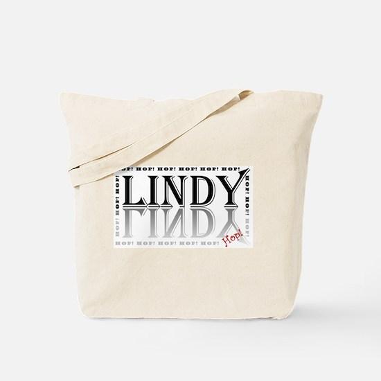 Lindy Hop! black & grey Tote Bag