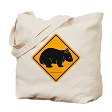 Wombat Sign II Tote Bag