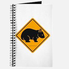 Wombat Sign II Journal