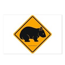 Wombat Sign II Postcards (Package of 8)