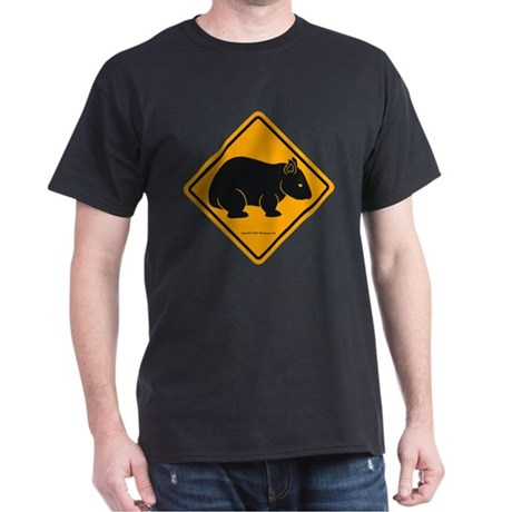 Wombat Sign II Dark T-Shirt