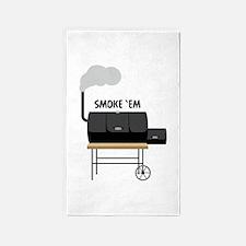 Smoke Em Area Rug