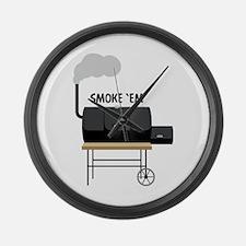 Smoke Em Large Wall Clock
