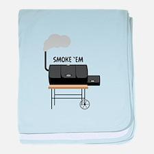 Smoke Em baby blanket