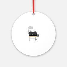 Slow & Low Ornament (Round)
